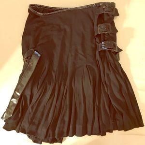 Jean Paul Gaultier Black Ruffle Skirt